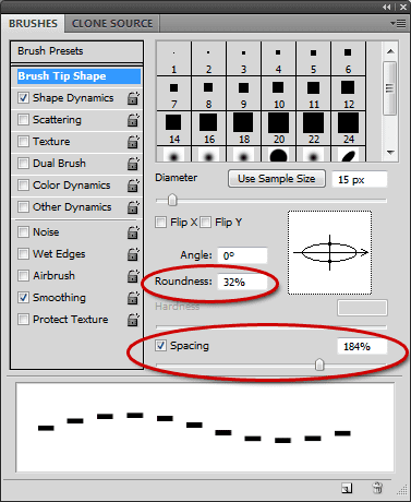 Pixel In Gene Making Dashed Lines In Photoshop
