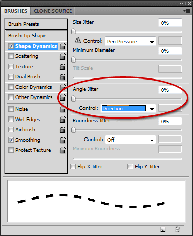 Pixel-in-Gene: Making dashed lines in Photoshop